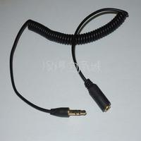 3.5mm Aux Audio Spring  extension cable 3.5mm elastic line retractable for earphones