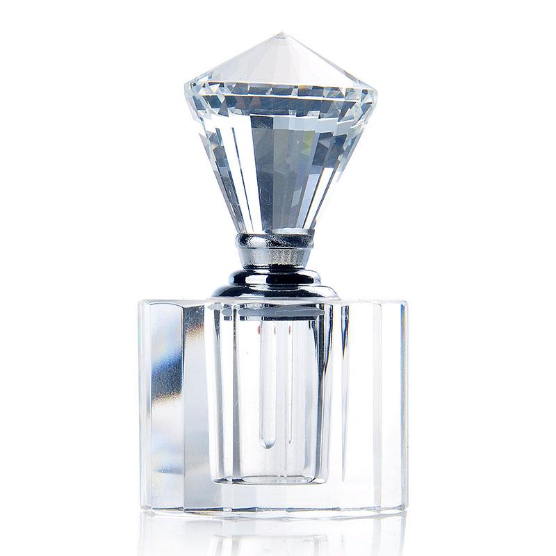 New Arrival Home Decor Gift Sample Glass Bottles Empty Travle Cometic Crystal Perfume Bottles Refillable Perfume