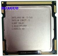 HUAGUO for Intel Core i5 760 Quad-Core SLBRP 2.80GHz 8M Socket 1156 CPU Processor