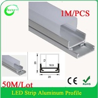 Hanks50M/Lot  width up to 16mm Corner Aluminum Extrusion Profiles for LED Strip Lights, 1m/pcs LED Profile for Corner