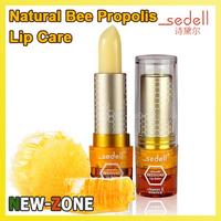 100% Natural Bee Propolis Vitamin E Lip Balm 4g No addtive Lip Care repair lip wrinkles long time super moisture