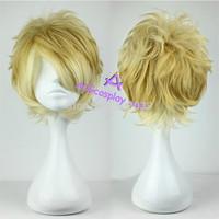 Free Shipping DIABOLIK LOVERS Sakamaki Shu cosplay wig mixed color short wig ACGcosplay