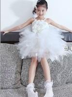 Cute Sleeveless Women Ballet Dress for Girls Costume Female Gymnastics Leotard Skate Dance Party Ballet Tutu for Children LD025