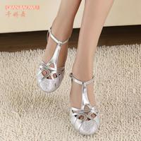 2014 Fashion Women's White Latin dance shoes wholesale Spot promotion Salsa Square dance shoes High heels 10cm 8.5cm 7.5cm