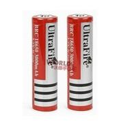 FS! 18650 3000mAh Ultrafire battery 3.7V Li-lon Rechargeable Battery (Red) for LED flashlight /torch/Power Bank 200pcs/lot