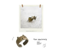 Cute teddy bear rings opening adjustable restoring ancient ways Female hipster ring
