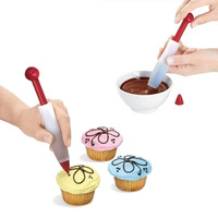 Repeatedly with silicone chocolate pen decoration pen squeeze sauce Decorating Pen  writing pen cake decorating tools