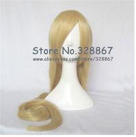 Naruto Senju Tsunade 150cm Plain Gold High-temperature Resistence Fibre Cosplay Wig