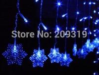 Christmas Snowflake string lights  Christmas tree  6*4*3*2 meter * 0.6