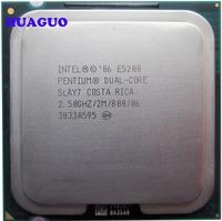 HUAGUO for Intel Pentium E5200 2.5 GHz Dual-Core CPU Processor SLB9T LGA 775