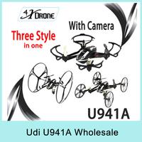 2Pcs Udi U941A 4CH 6-Axis 2.4G RC Quadcopter Aircraft Deform Nano Drone With Gravity Sensor 360 Eversion 3D FPV With Camera