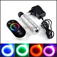 Free shipping Touch Control 6W Optic fiber lights illuminator,AC100-240V input  light engine fiber optical,Russia Australia like