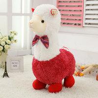 Pernycess 1pcs 60cm Alpaca plush toy doll cute pillow for Christmas