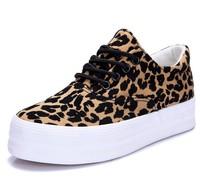 2014 autumn new 168 Yaxing leopard canvas shoes Korean wave lace platform shoes child for women size35-39 S1005