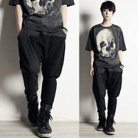 Free Shipping 2014 mens harem pants hip hop sports wear slim fit the man trousers/track suit/sweatpants for men
