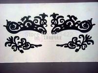 Hot Fashion royal lace cosmetic eye stickers  cutout False eyelash stickers lk020 free shipping
