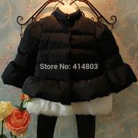 Joy Chang's girls winter warm thick dress coat kids warm trench 90-130cm retail