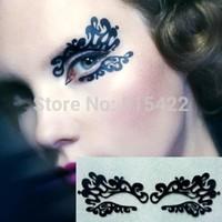 New arrival fashion cosmetic paper cut luxury eye stickers eyeliner cutout eye shadow stickers lk012 Free shipping
