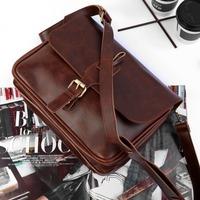 women bag Vintage women bags  messenger bag crazy horse leather handbag fashion preppy style handbag messenger bag