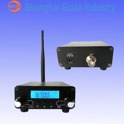 Home FM TRANSMITTER 100mW/500mW (Power adj.) 76-108Mh B(China (Mainland))