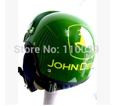 2014 New MASEI JOHN DEERE AIR JET Helmet Pilots Fight Helmets Motorcycle Half Helmet Electric Bicycle Open Face Pilot Helmet(China (Mainland))