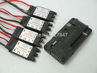 Side pin APM2.6 APM Flight Controller Board + 4x30A SimonK RC Brushless ESC
