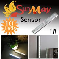 10 LED IR Infrared Motion Detector Sensor Closet Cabinet Light   Sensor Closet Cabinet Light Lamp Wireless Using AAA battery