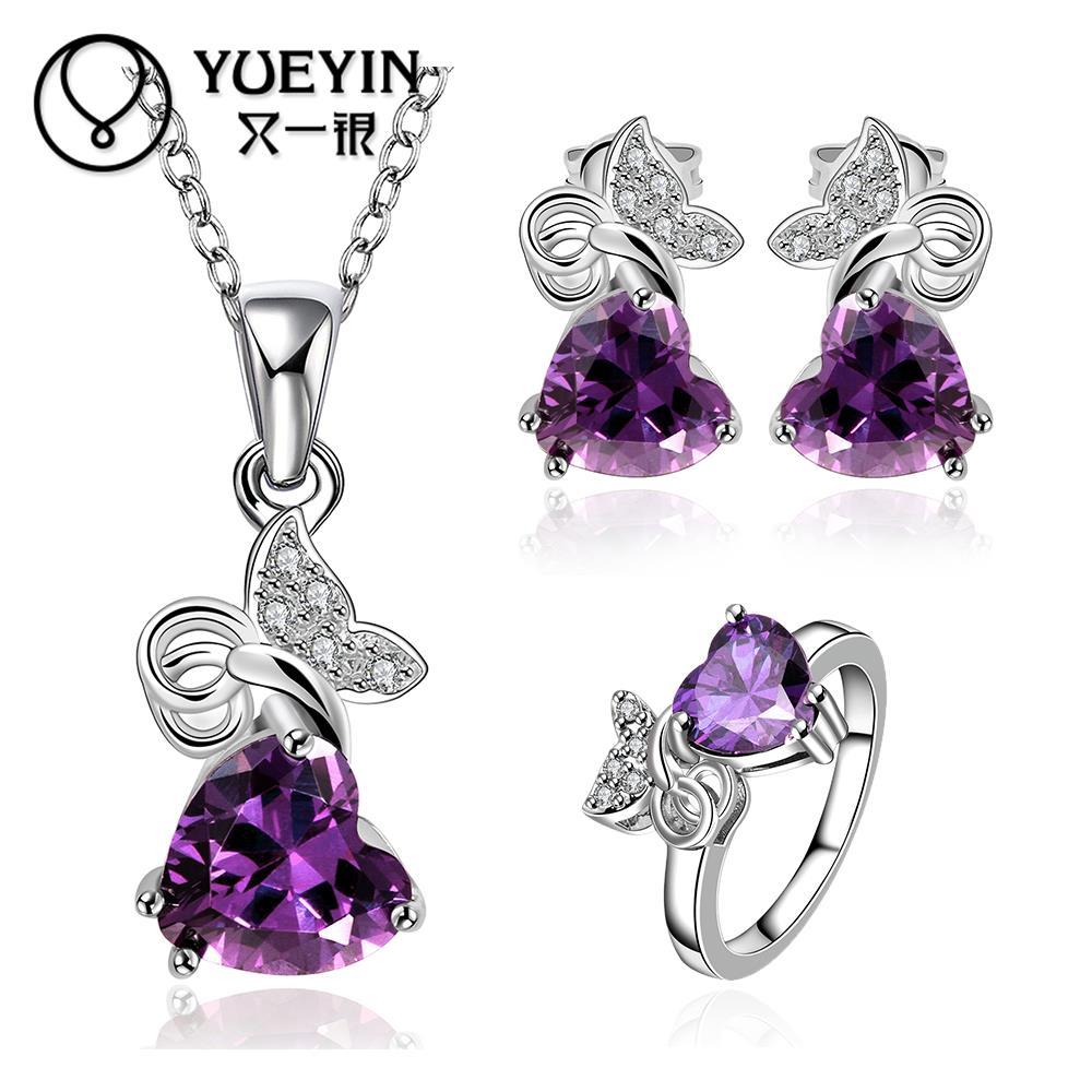 10sets lotFVRS036 2015 new fine jewelry sets Extravagant Party jewlery set for lady Fashion Big Crystal