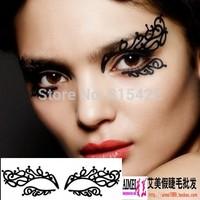 New arrival fashion cosmetic paper cut luxury eye stickers  cutout False eyelash stickers lk006 Free shipping