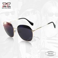 New Fashion Wellful Mens Womens Sunglasses Brand Designer Sunglass Cycling Glasses Round Metal Big Frame oculos gafas de sol