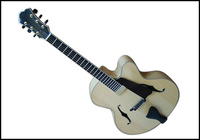 16 Inch F hole Solid Wood Jazz Guitar On Sale