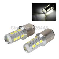2x 1157  14LED SMD White Light 1157 BAY15D 5630 Car Tail Brake Bulb Lamp 12V