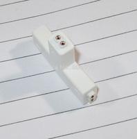 500PCS By DHL/FEDEX Connector rgb T Shape 2 Pin Plug RGB LED Strip Connectors