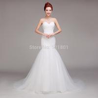 vintage sexy wedding dresses mermaid wedding dress 2015 vestido de noiva casamento vestido de renda romantic fashionable gown