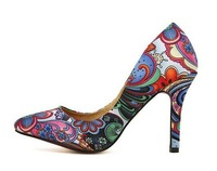 Free shipping high quality Spring Summer pointed high heels