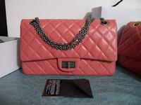 Luxury Bag:Genuine Leather Diamond Lattic Women Shoulder Bag  Messenger Bag Totes