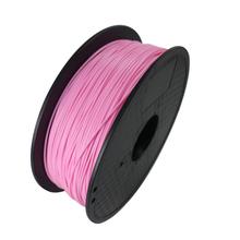 Pink Color 3D Printer Filament PLA 1.75mm 1kg Plastic Rubber Consumables Material