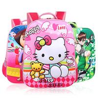 2015 new 3D nylon cartoon children school bags kids backpacks mochila primary school sports bag for student girls boys