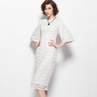2014 news fashion lace dress wedding party dress maxi long evening dress prom dress