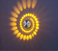 Free Shipping 3W AC 85-265V Wall Light Bedside lamp KTV Led Bar Corridor Night Light Backgroud Hallway Lighting