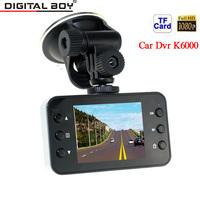"Digital Boy Full HD 1080P Car Dvr 120 Wide Angle 4 x Digital Zoom 2.7"" LED display Car Camera recorder K6000 With Night Vision"