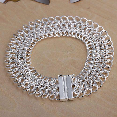 H005 925 stearling silver bracelet, 925 stearling silver fashion jewelry Big Centipede Bracelet /avoajmva abvaitca(China (Mainland))