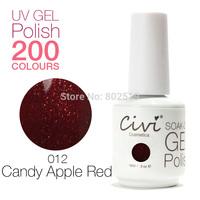 Civi Nail Gel Soak off UV nail gel 30 days Long Lasting 200 Gorgeous Colors The Best Gel Polish Choose 7 Colors