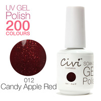 Civi Nail Gel Soak off UV nail gel 30 days Long Lasting 200 Gorgeous Colors The Best Gel Polish Choose 7 Colors