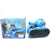 Frozen 3D Light Musical Electric Tanks Toy For Baby Boys Girls Kid Children Xmas Gift 185LLZ
