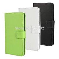 For Nokia Lumia 535 PU Card Holder Stand Design Flip Leather Case Cover For Microsoft Lumia 535
