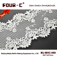 3D silicone cake lace mat,border mould,lace silicone molds,fondant cake decorating tools