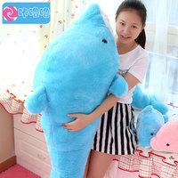 Pernycess 1pcs 120cm Dolphin plush toy dolls pillow creative birthday gift