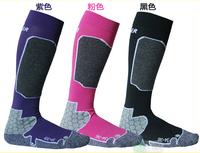 Outdoor Sport Ski Socks Women Long Thicken Warm Wool Breathable Socks for Snowboard Skiing Cycling Climbing Women Socks