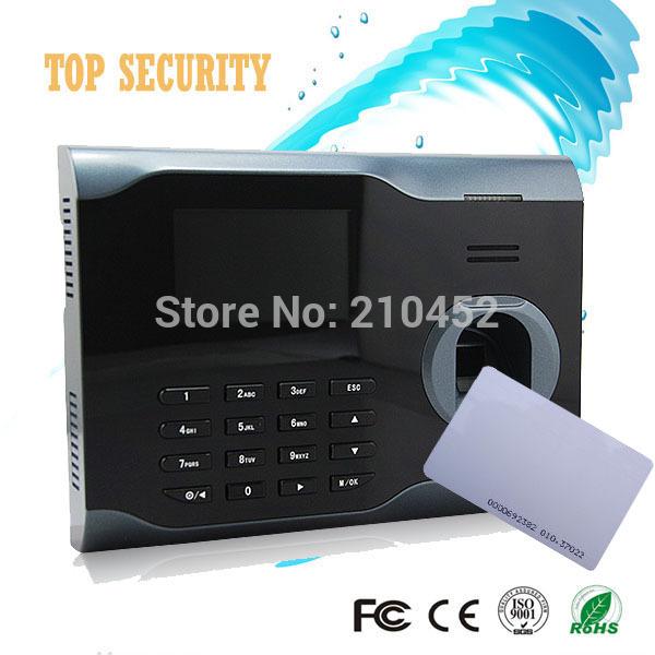 Fingerprint and 125KHZ RFID card time attendance WIFI tcp/ip usb finger and smart card attendance time recorder U160/ID(China (Mainland))